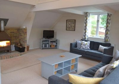 Vine Lodge living room