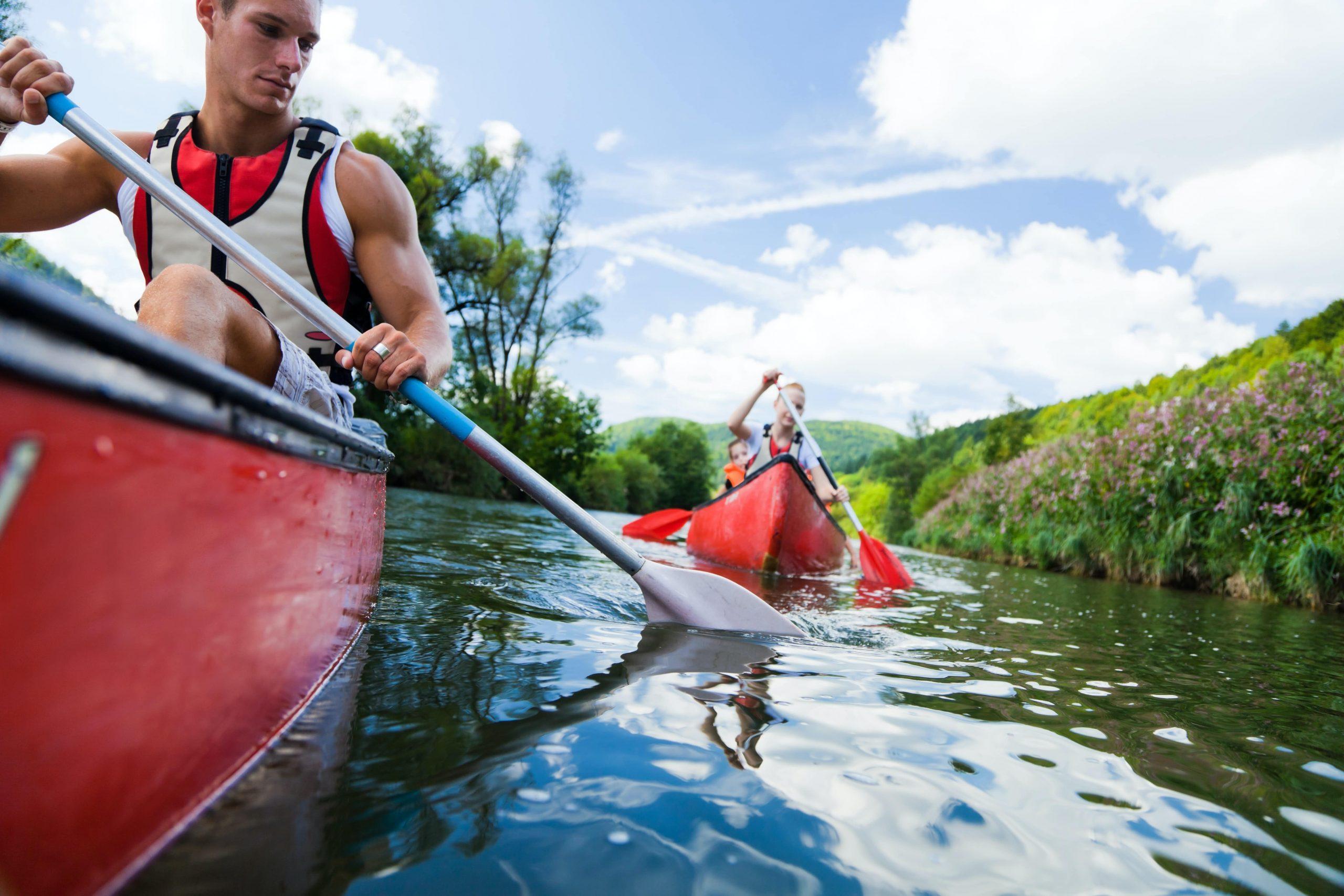 Group Holidays - Kayaking - Little Dunley Cottages Devon