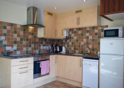 Fig Cottage - Kitchen Area - Little Dunley Cottages