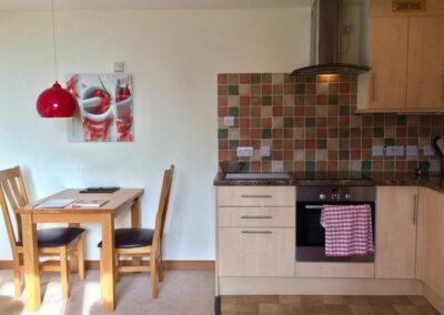 Fig Cottage - Kitchen Diner - Little Dunley Cottages