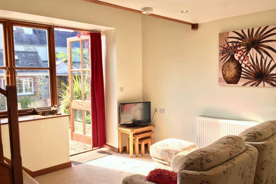 Fig Cottage - Living Area - Little Dunley Cottages