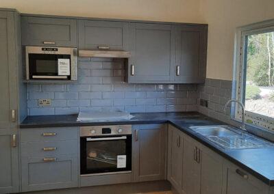 Holly Holiday Cottage Devon - Kitchen Area - Little Dunley Cottages