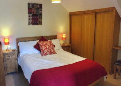 Virginia Cottage Devon - Bedroom - Little Dunley Cottages