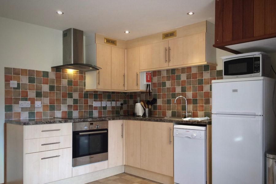 Virginia Cottage Devon - Kitchen Area - Little Dunley Cottages