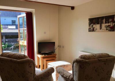 Virginia Cottage Devon - Living Room - Little Dunley Cottages