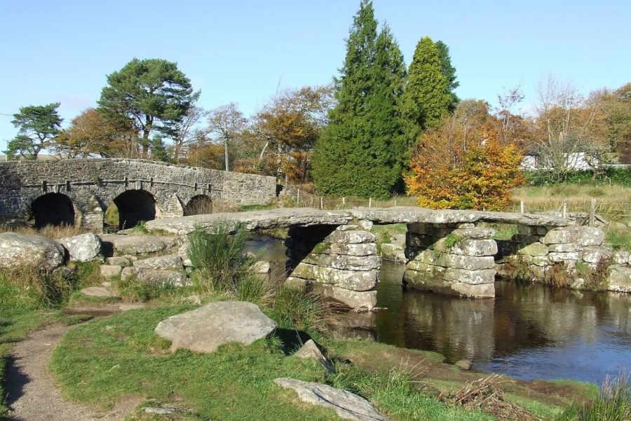 Willow Cottage Devon - Dartmoor Stone Bridge - Little Dunley Cottages
