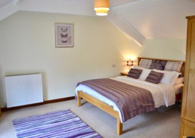 Wisteria Cottage Devon - Bedroom - Little Dunley Cottages