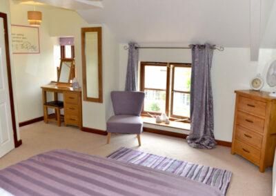 Wisteria Cottage Devon - Bedroom Window - Little Dunley Cottages